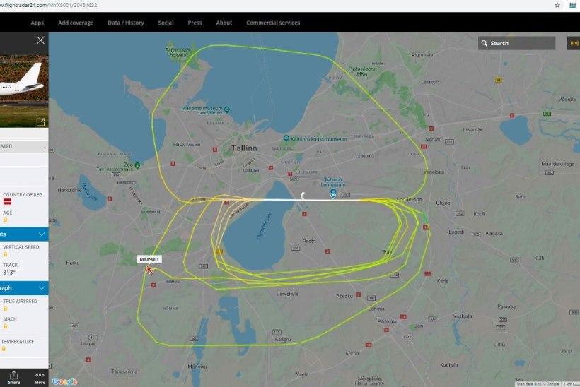 VEIDER: miks tiirutab Tallinna kohal lennuk?
