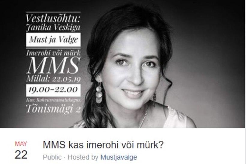 Rahvusraamatukogu tühistas MMS-i kasutamist propageeriva ürituse