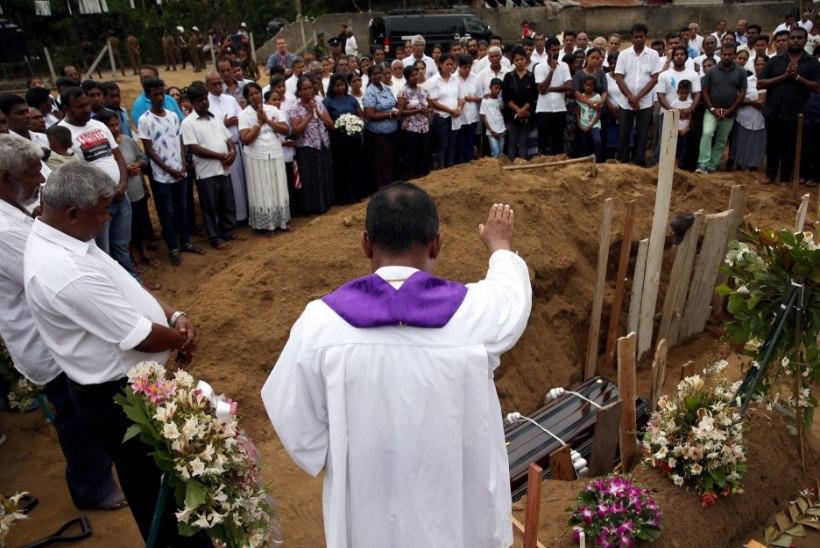 Sri Lanka võimud: tegelikult hukkus rünnakutes umbes 100 inimest vähem!