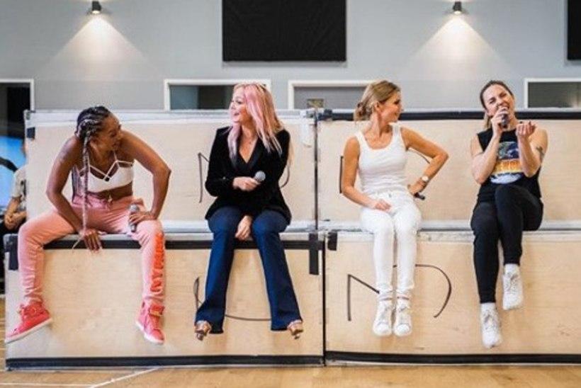 FOTO | Seksiskandaali seljatanud Spice Girls teeb usinalt proovi