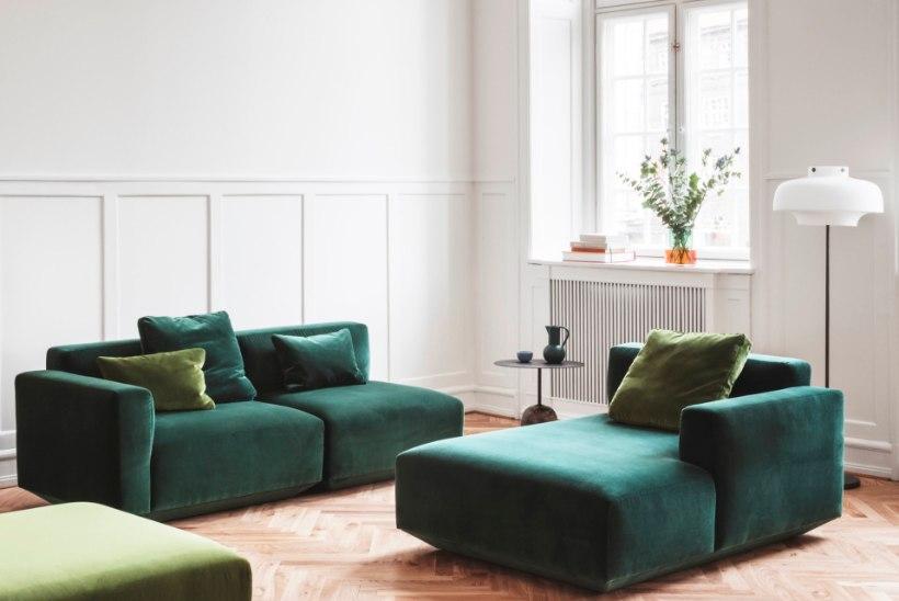 Nurgeline mööbel on minevik! Kurvid ja kumerused on disainis tagasi!