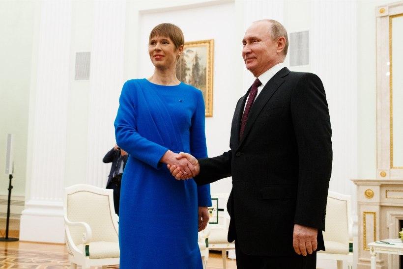 Встреча Кальюлайд с российским лидером: ждем Путина и Трампа в Тарту в 2020-м?