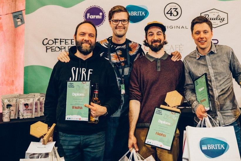 TALLINNA KOHVIFESTIVAL | Teravaima maitsemeelega kohviekspert on Roland Põllu