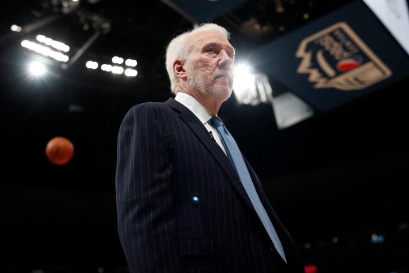 VIDEO   Legendaarne Popovich keeldus alistumast ja Spurs viis seeria seitsmendasse mängu