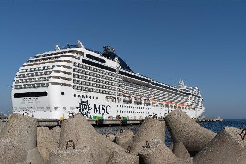 GALERII  Tallinna jõudis hooaja esimene kruiisilaev