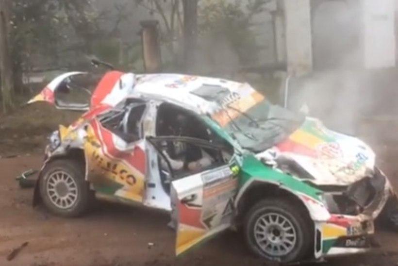 VIDEO | 18aastane rallipiloot tegi Argentina MM-etapil hirmuäratava õnnetuse
