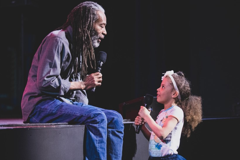FOTOD   Väikese tüdruku unistus täitus: Sofia Rubina 6aastane tütar jagas lava dzässilegendi Bobby McFerriniga