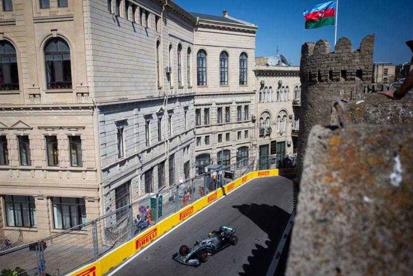 Bakuu GP: Mercedesed said järjekordse kaksikvõidu, Bottas tõusis üldarvestuse liidriks!