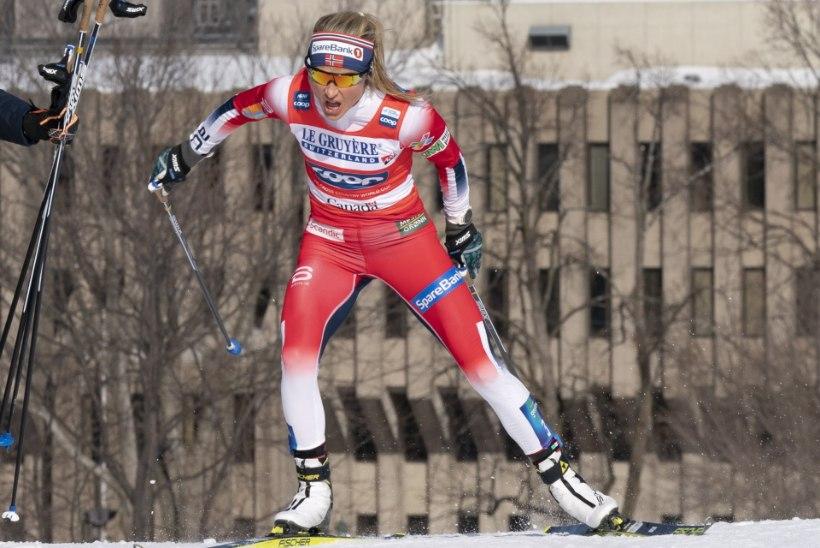JÕUDEMONSTRATSIOON! Therese Johaug jättis Petter Northugi klassikamaratonil kaugele selja taha