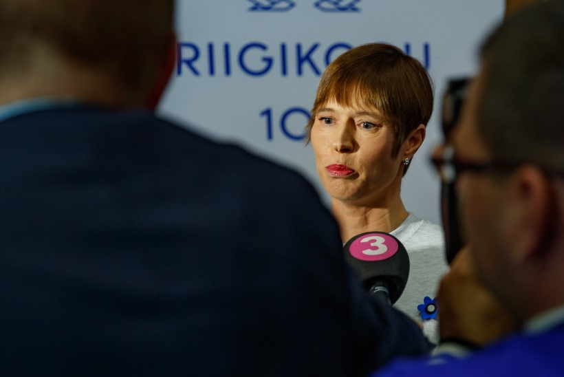 """""""SÕNA ON VABA""""   President Kaljulaidi kurikuulus pusa telliti alles sama päeva hommikul"""