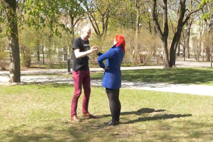 ÕL VIDEO | Rahvusvaheline tantsupäev! Kas kogemuseta reporter suudab ära õppida Eesti pärimustantsu?