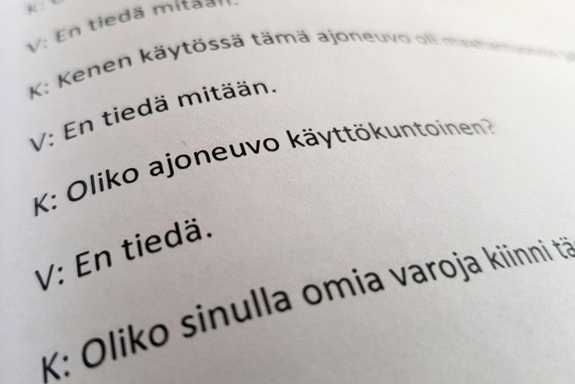 HIIGELHÜVITISTE JAHIL: kindlustuspetturite jõuk tegi Soomes avariisid Eestist toodud autorisudega