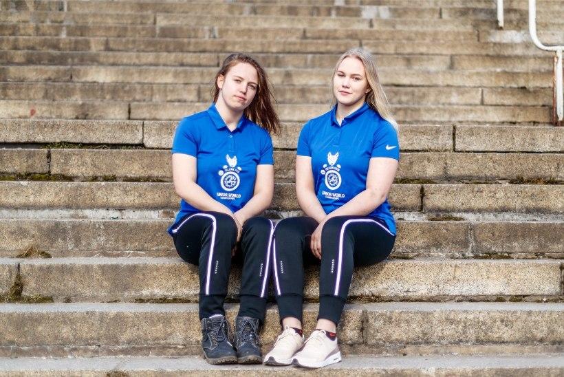Noorte naismaadlejate kirev elu: sinise silmaga kooliskäik tekitab elevust