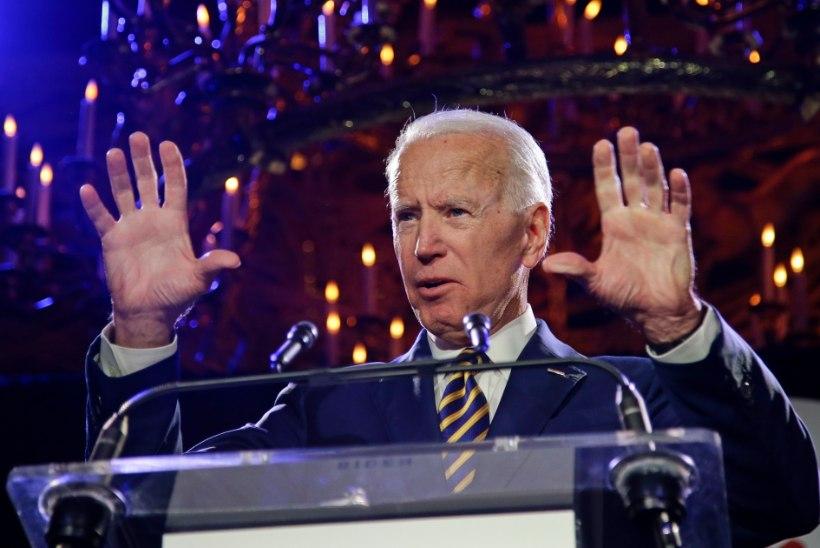 AHISTAMISSKANDAAL: Joe Bideni tähelend võis läbi saada enne õieti startimistki