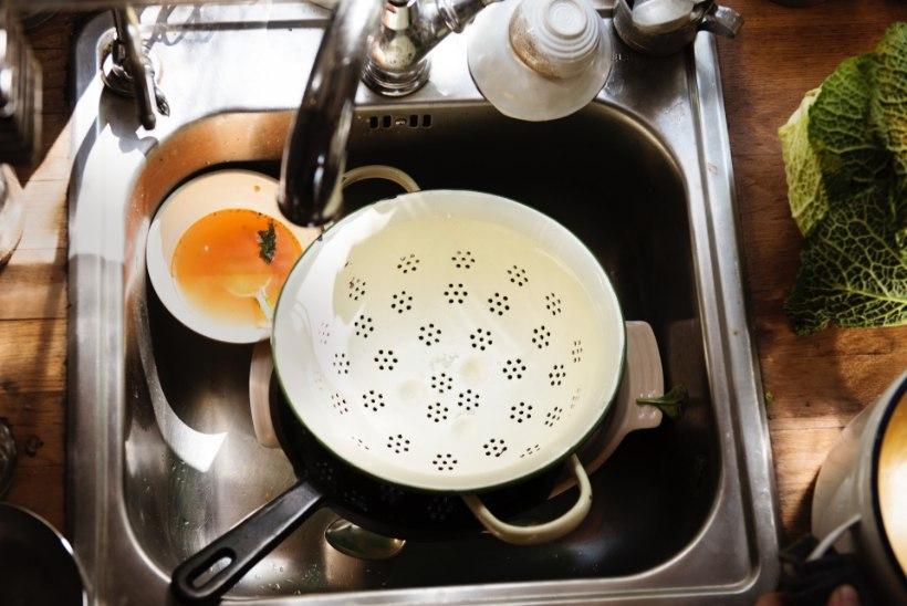 Hüvasti segadus: löö köök läikima!