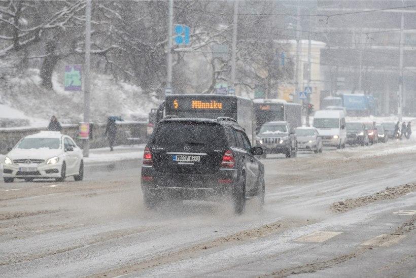 ETTEVAATUST: nädala lõpus võib sadada lund