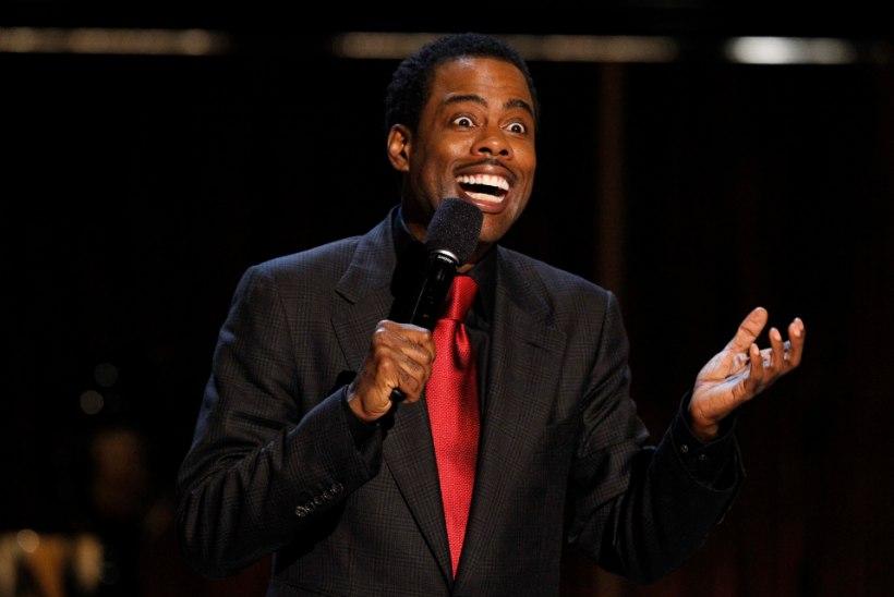 Koomik Chris Rocki tümitatakse Whitney Houstoni pilkamise eest