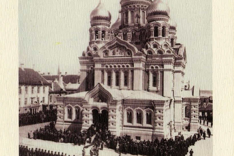 FOTOUUDIS | Vaata, mis toimus täna 119 aastat tagasi Toompea lossi ees!