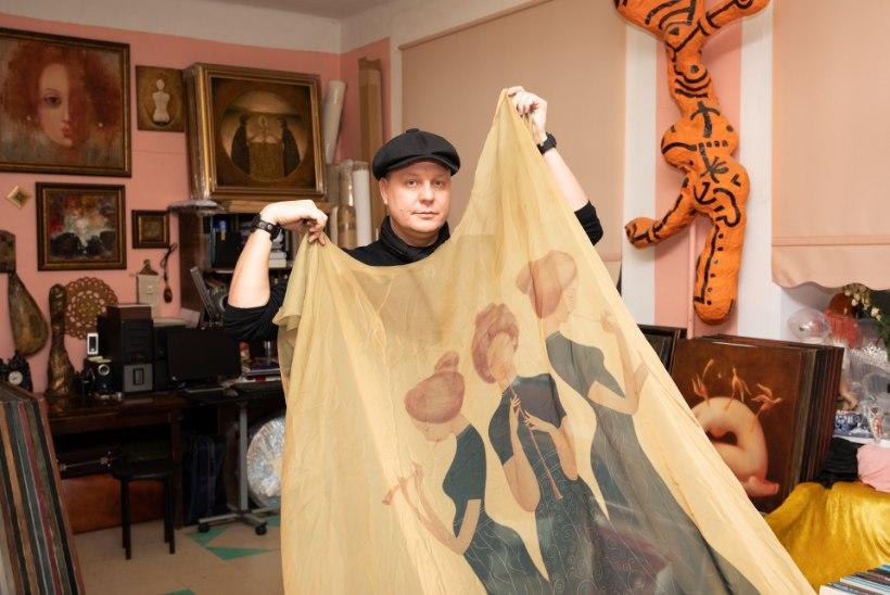 GALERII | MÜSTILISTE NAISAKTIDE LOOJA: Sillamäe kunstniku maalid müüvad üle kogu maailma