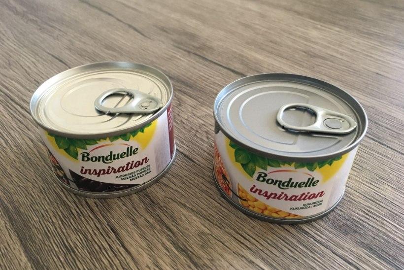 KATSE | Vaata ja imesta! Mida põnevat saab teha Bonduelle Inspirationi toodetest?