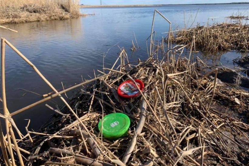 MEELDETULETUS: ära jäta kalastamisprügi vee äärde maha