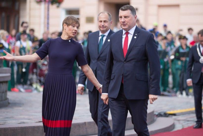 Läti president peab Tartu ülikoolis loengu