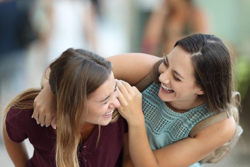 NALJATEADUS: me ei naeragi selle üle, mille üle arvame end naervat...