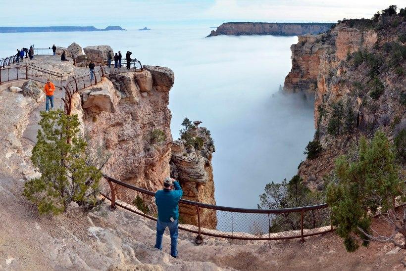 MIS TOIMUB? Kümne päeva jooksul kukkus kolm turisti Suure kanjoni servalt alla surnuks