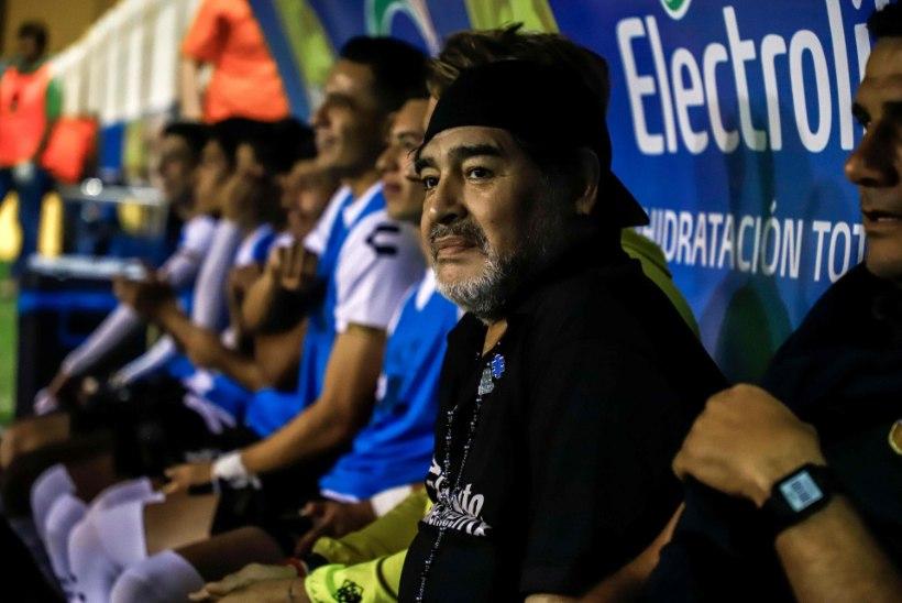 Diego Maradona: meile ei antud penaltit, kuna peatreeneriks olen mina