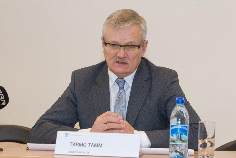 Maaeluminister Tarmo Tamm: mina ei jätka uue valitsuse ministrina