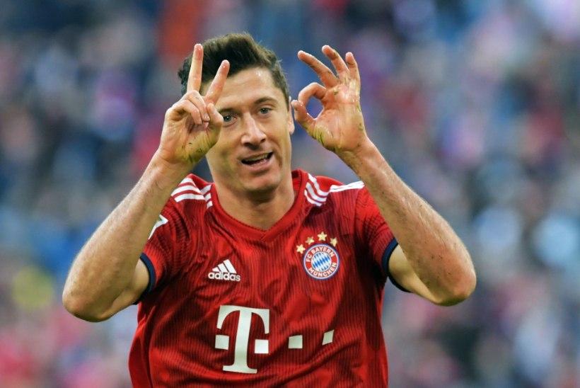 Bayern on tagasi? Lewandowski tegi ajalugu ja Borussiale köeti korralik saun
