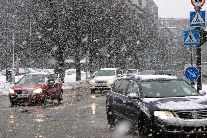 Ära talvemantlit varna riputa: uus nädal toob lund ja lörtsi
