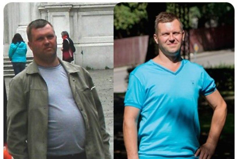 21 kilogrammi kaotanud mees avaldab, milline oli tema nipp