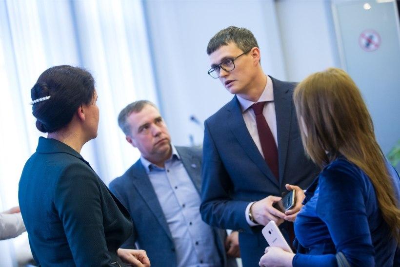 Narva volikogu valis uueks linnapeaks parteitu Aleksei Jevgrafovi