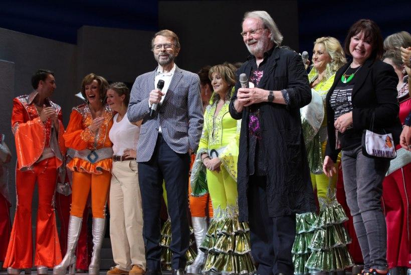 """ABBA staarid osalesid muusikali """"Mamma Mia!"""" 20. sünnipäeval"""