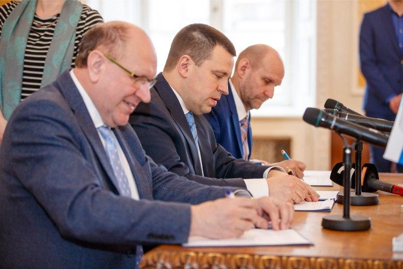 Koalitsiooni lõhkemine oli lähedal, aga malbe Ratas hoidis perutava EKRE ohjes