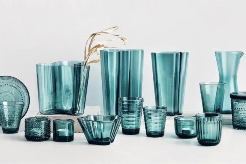 Vaata Iittala uut kollektsiooni I Meresinine klaas annab kevadpühadeks kodule särtsu