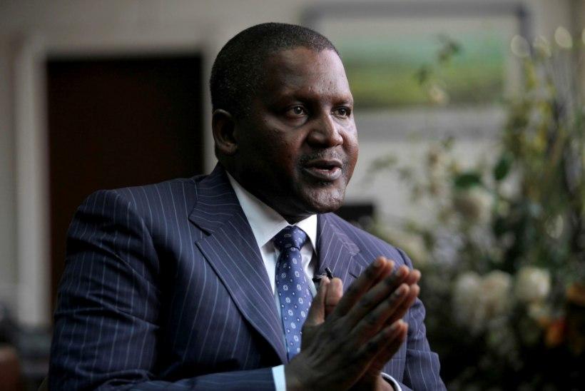 Aafrika rikkaim mees võttis pangast välja 10 miljonit dollarit, et seda lihtsalt vaadata