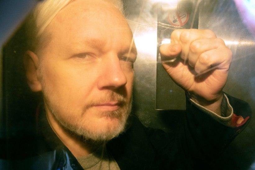 Julian Assange saadeti peaaegu aastaks trellide taha