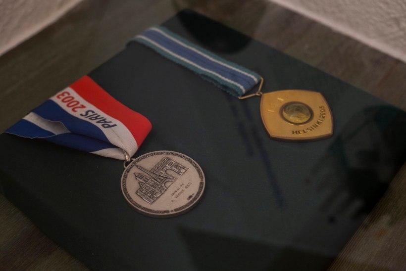 Värniku maha müüdud medalid ei läinud Eesti spordisõprade jaoks kaduma