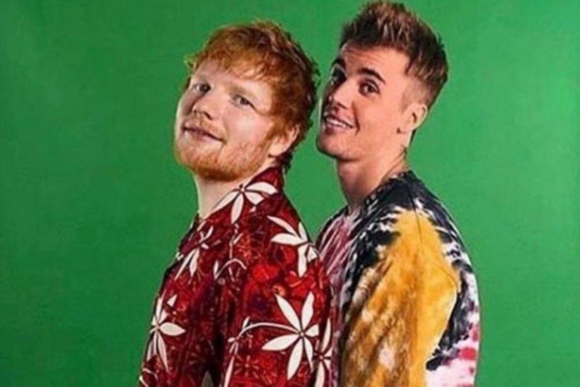Ed Sheeran ja Justin Bieber avaldasid ühise laulu
