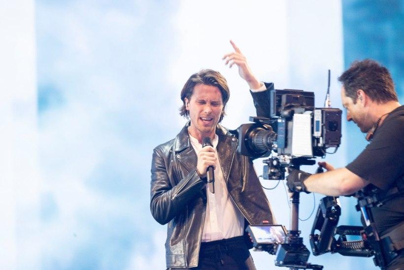 Victor Crone teisest lavaproovist Eurovisionil: väike hirm on, et kõik ei tööta!