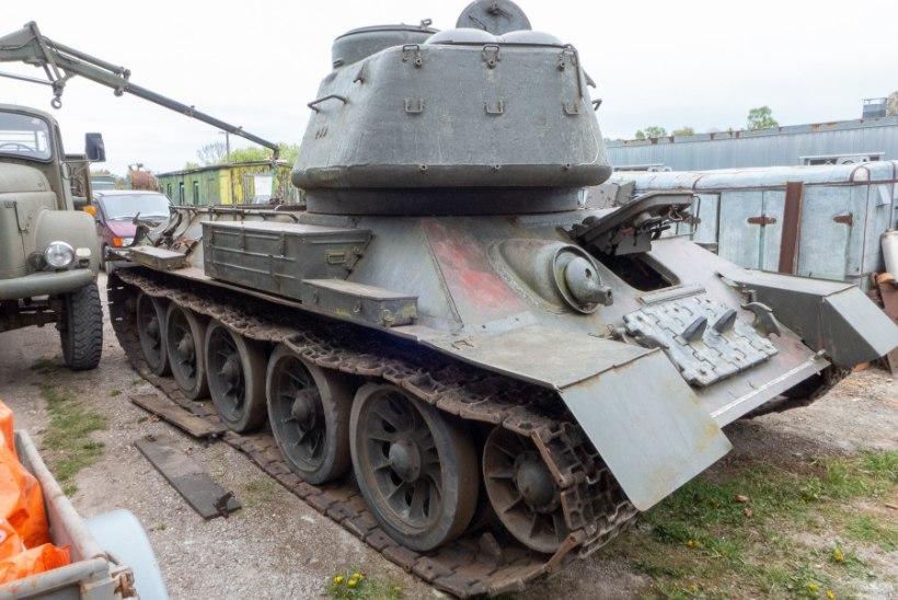 GALERII | Saaremaal on vaatamiseks ehtne tank