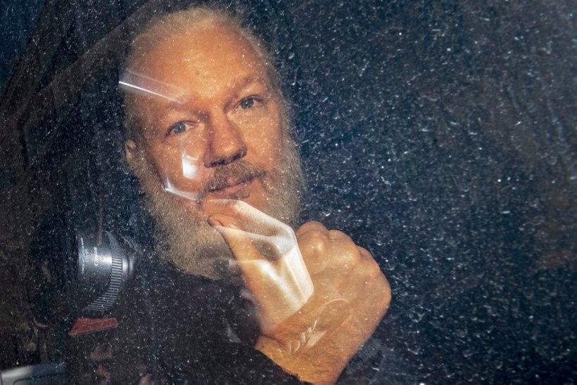 Rootsi taasavab Julian Assange'i vägistamisjuhtumi