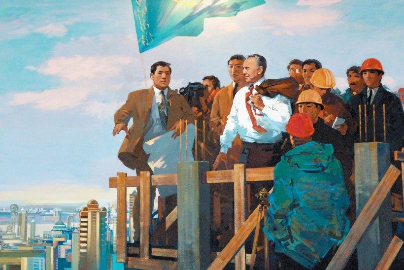 4c872453ccd Nazarbajev: mees nagu riik, riik nagu mees | Mehele