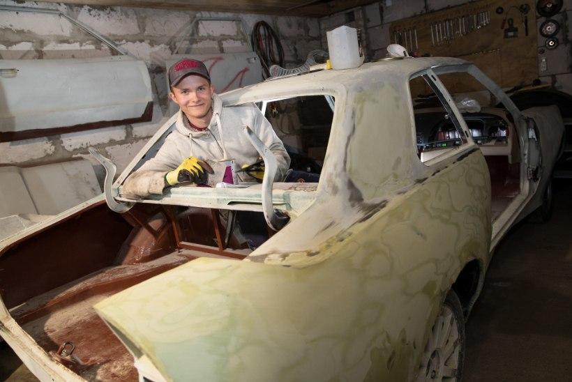 Suusahüppaja Kevin Maltsev mediteerib garaažis ja kihutab rallikrossirajal. Vahel ka üle katuse