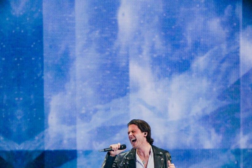 Victor Crone vahetult enne Eurovisioni žürii poolfinaali: püüan endale sisendada, et kõike tuleb nautida