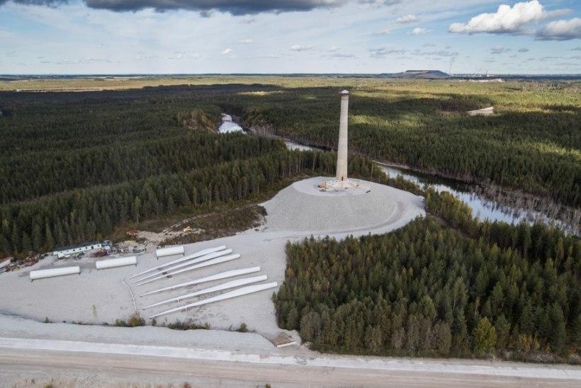 Sõnajalad taotlevad kohtus Aidu tuulepargis politseivalve tühistamist