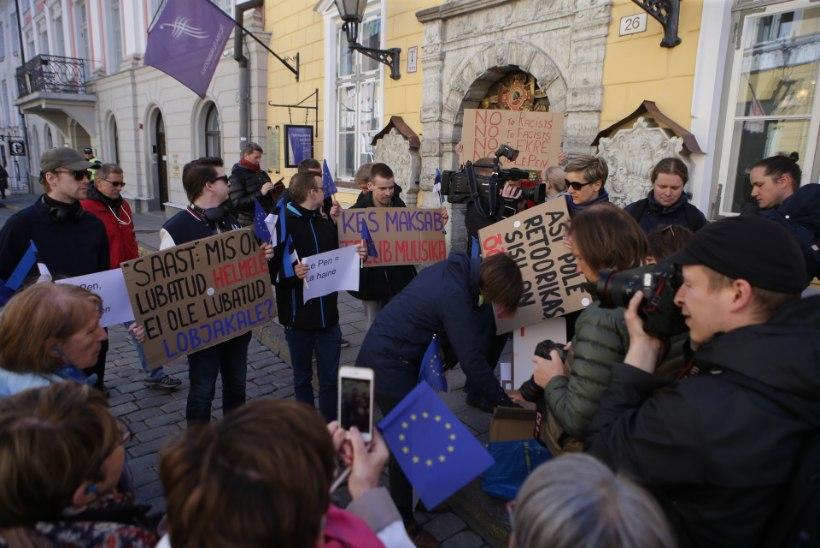 VIDEOD JA GALERII | Le Pen: elagu EKRE, elagu Eesti ja elagu rahvuste Euroopa!