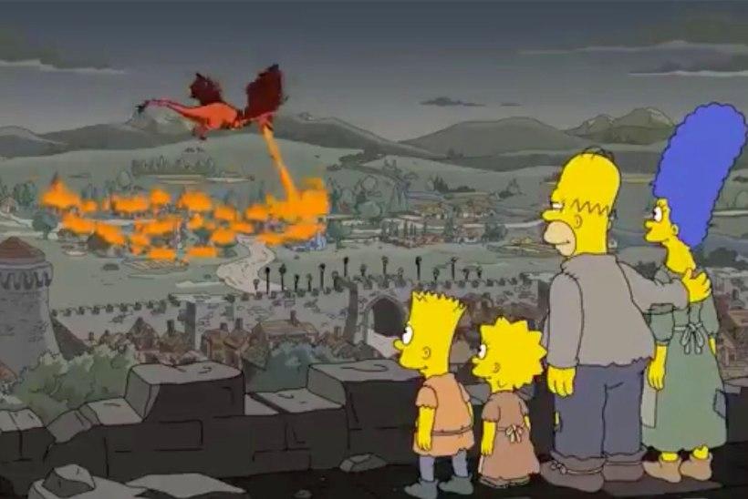 """NO POLE VÕIMALIK! """"Simpsonid""""  ennustasid ette, milline pööre """"Troonide mängu"""" viimases hooajas aset leiab"""